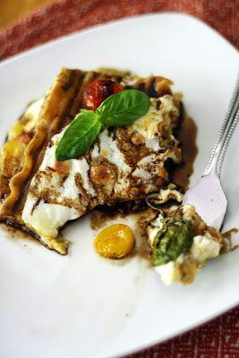... - think lasagna meets caprese salad meets margarita pizza!! YUM