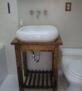 Bathroom Vanity on Diy Bathroom Vanity From An Ikea Table   Diy Projects