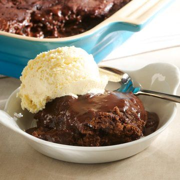 Chocolate Brownie Pudding recipe= http://www.foodchannel.com/recipes ...