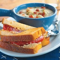 Mama's Best Broiled Tomato Sandwich Allrecipes.com
