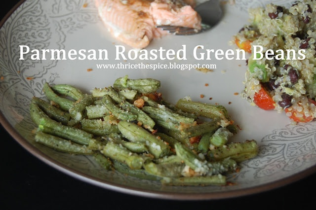 Parmesan Roasted Green Beans | Things We Have Made | Pinterest