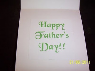 father's day email card