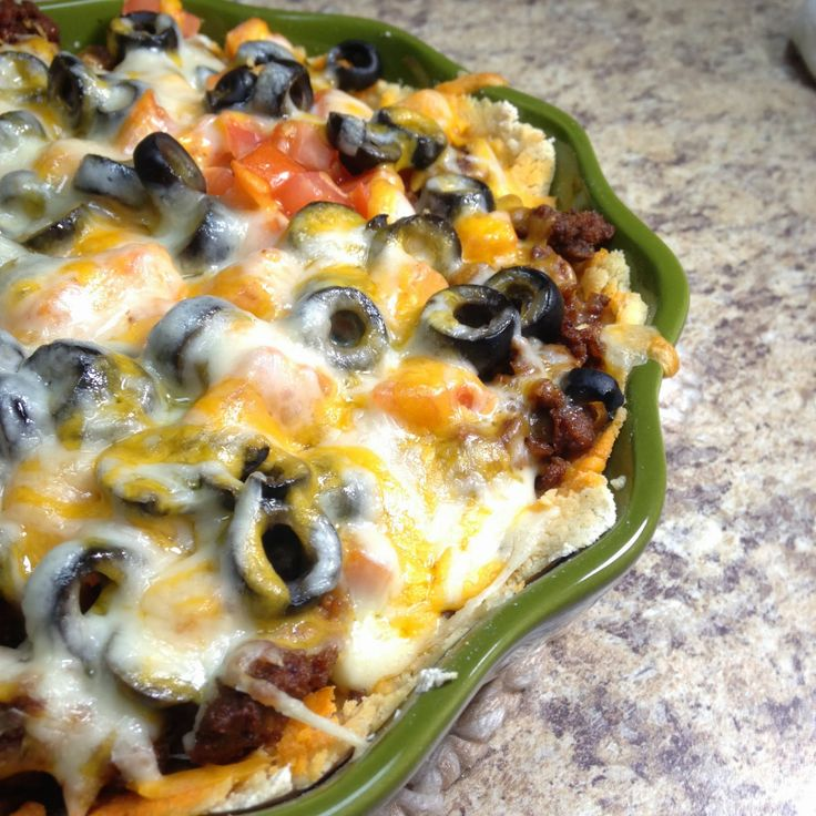 Tex-Mex Pie | South of the Border | Pinterest