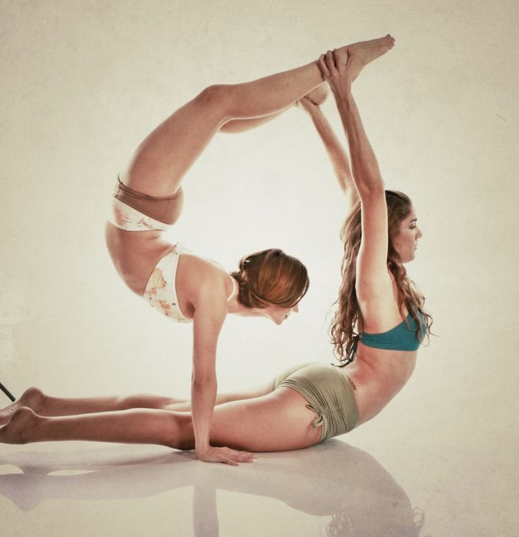 263 Best Images About Partner Couples Yoga Poses On