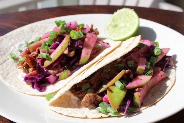 Beer Braised Chicken Tacos | Num-Nums! | Pinterest