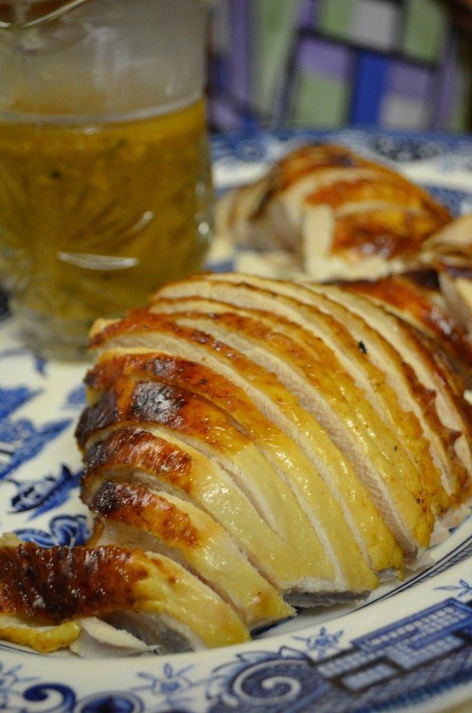 ... cider brined turkey with savory herb gravy cider brined turkey with