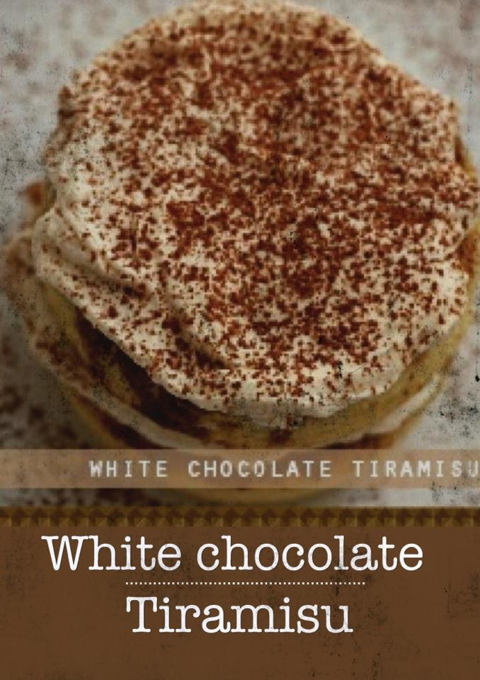 White Chocolate Tiramisu | My Sweet Tooth Story | Pinterest