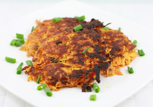Sweet Potato Latkes. These are AMAZING, and I don't even like sweet ...