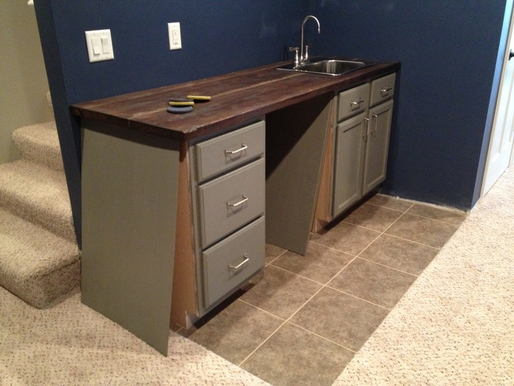diy wet bar for the home pinterest