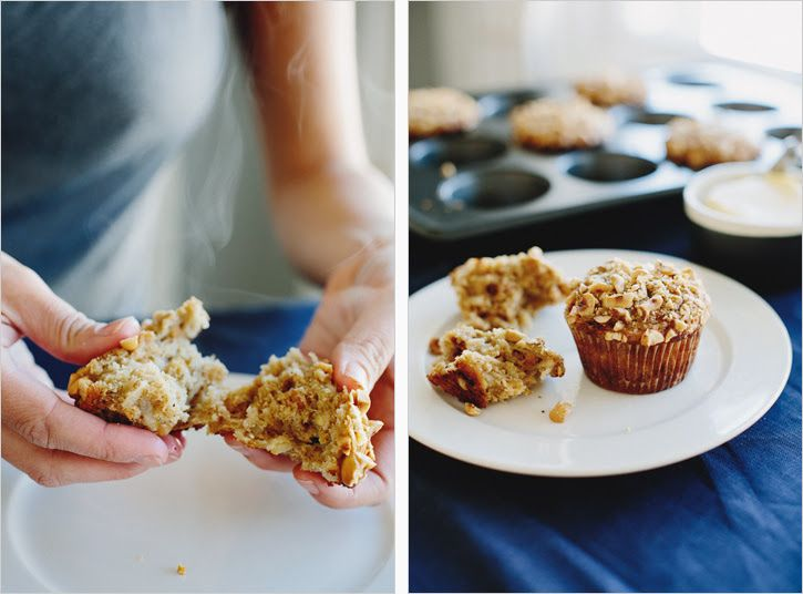 pear & hazelnut oat muffins. sprouted kitchen.