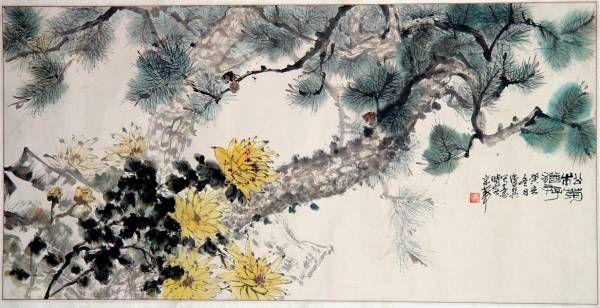 китайская живопись гохуа: 2 тыс ...: pinterest.com/pin/492229434246042969