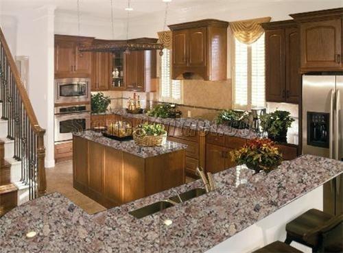 Almond Mauve Granite Countertop  Kitchen ideas  Pinterest