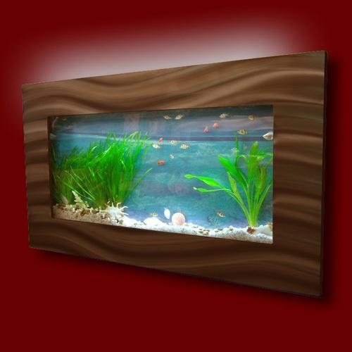 Wall Mounted Fish Tank Mancave Pinterest