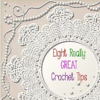 Crochet Tips : Eight really great crochet tips Crochet Pinterest