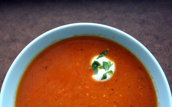 roasted red pepper/sweet potato soup | Favorite Recipes | Pinterest