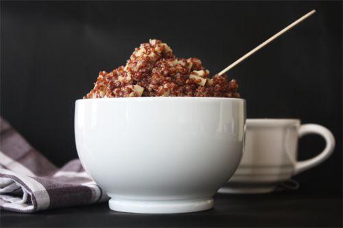 Apple Cinnamon Breakfast Quinoa | Food | Pinterest