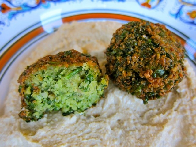 Falafel - Israeli Veggie Balls. Of course... don't fry them in oil!