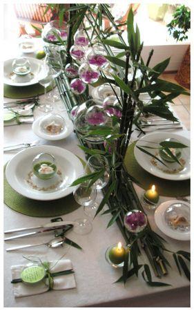 Déco très réussie !  table decoration  Pinterest