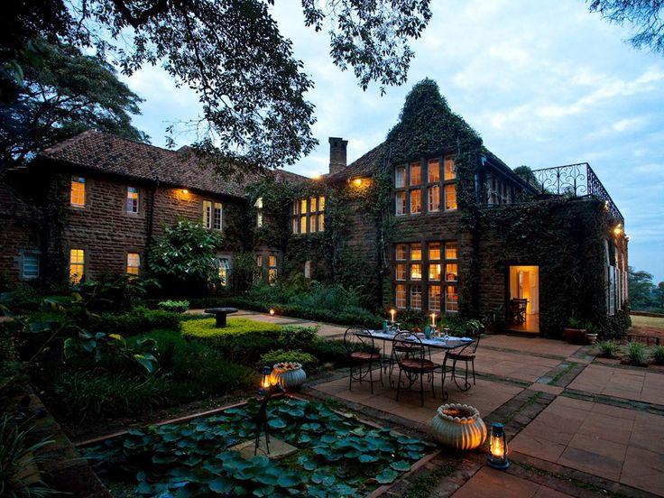 Hotel Giraffe Manor, Nairobi, Kenya