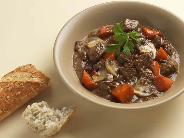Flemish Beef Stew | Good Eats-Make Ahead and Crock Pot | Pinterest