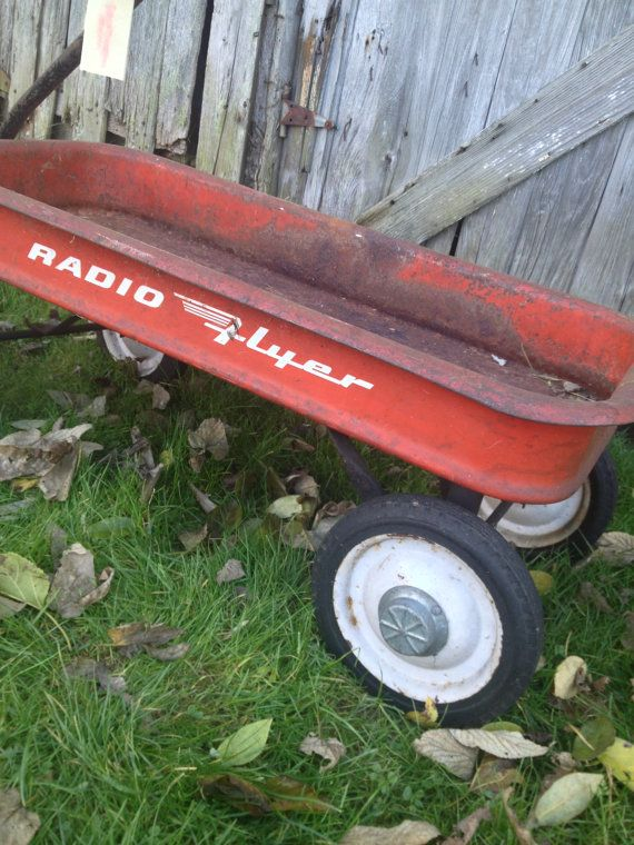 Antique Radio Flyer Wagon - Bing images