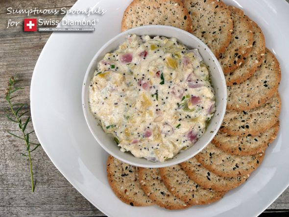 ... Party ~ Crab Artichoke Dip with Asiago & Bacon ~ Sumptuous Spoonfuls