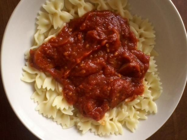 quick pan sauce quick and easy alfredo sauce spaghetti and meat sauce ...