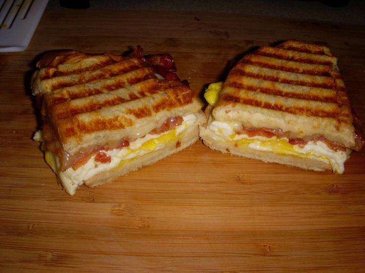 Breakfast panini | For my future food truck!!! :) | Pinterest