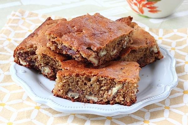 Peach & Pecan Oat Crumble Bars Recipe — Dishmaps