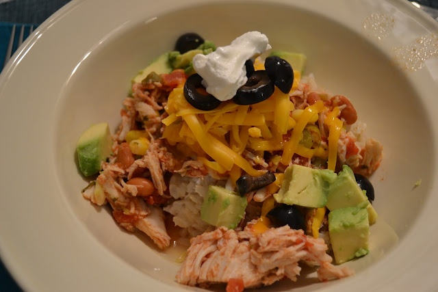 Sante Fe Crock Pot Chicken-really easy and really good. We made tacos ...
