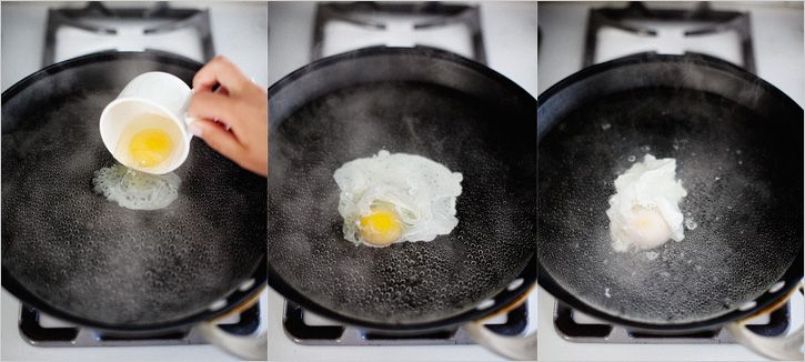 Vegetable Eggs Benedict
