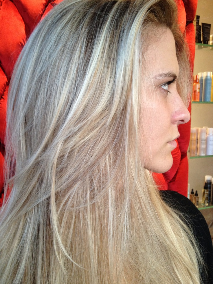 Natural blonde with subtle lowlights for contrast
