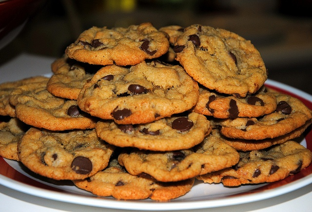 Crispy, Chewy Chocolate Chip Cookies | My Blog! | Pinterest