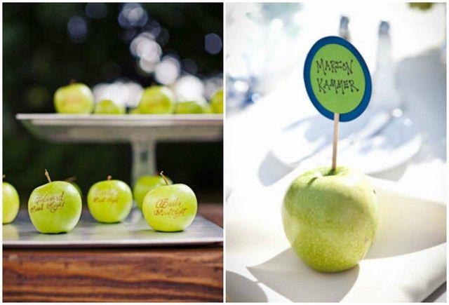 inspiration automne } mariage de pomme rouge. décoration, faire ...