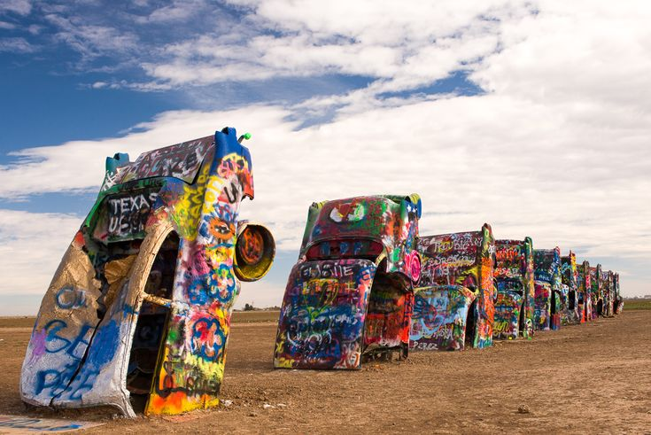 cadillac ranch amarillo texas places i want to visit or visit a. Cars Review. Best American Auto & Cars Review