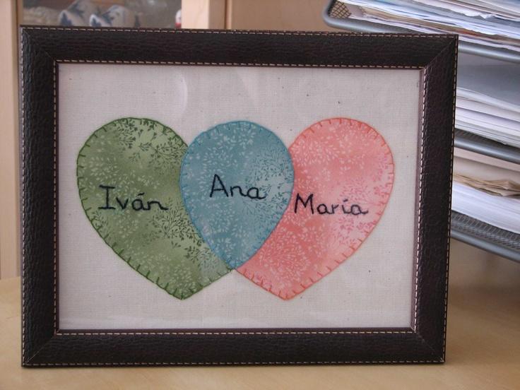Deshilachado: Tutorial de San Valentín: cuadro de corazones / Valentin's Day tutorial: picture of hearts