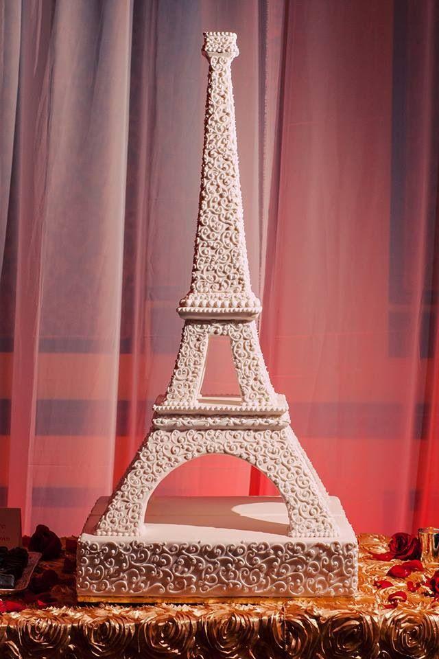 Eiffel Tower Wedding Cake Annacakes