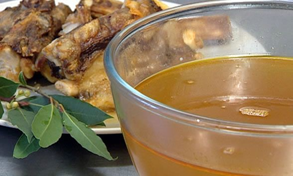 Homemade Beef Broth-Stock | Soups, stews, broths & stocks | Pinterest