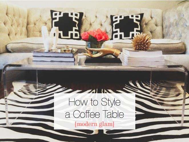 How To Style A Coffee Table Interesting Of How to Style Coffee Tables Photos