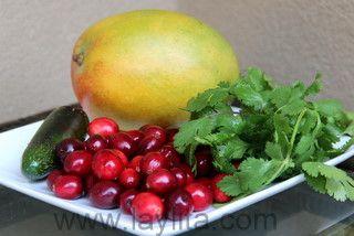 Spicy cranberry, mango and cilantro sauce | Recipe