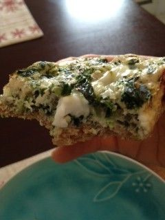 Baked Egg Breakfast Casserole With Mushrooms, Spinach & Salsa Recipes ...