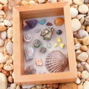Shadow boxes not only let you preserve a variety of keepsakes (everything from ticket stubs to sea shells), you can display them in a variety of ways.