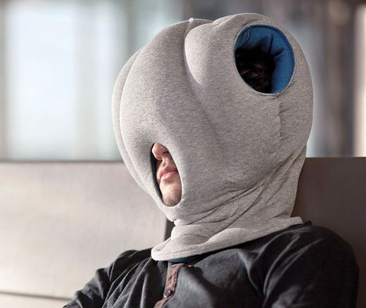 the ostrich pillow somebody invented that pinterest. Black Bedroom Furniture Sets. Home Design Ideas