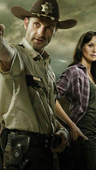 Rick and lori walking dead pinterest