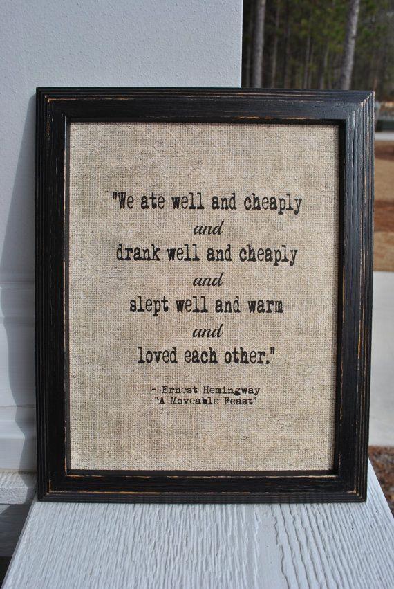 Love Quotes Ernest Hemingway Quotes