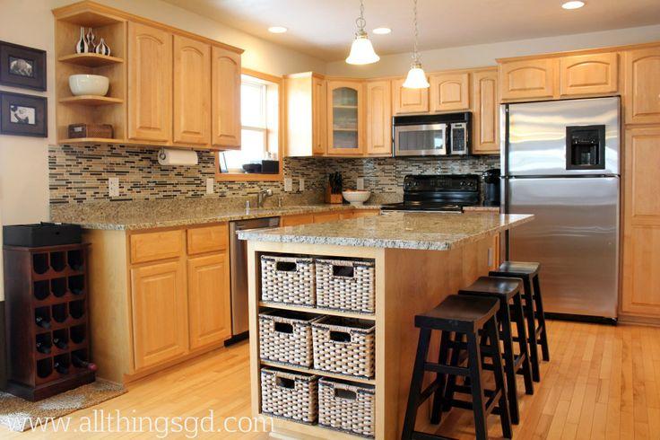 diy tile kitchen backsplash for the home pinterest diy kitchen backsplash hawthorne and main