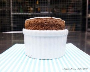 Valentine's Day - Hot Chocolate Souffle | HOT Chocolate | Pinterest
