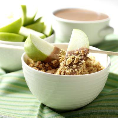 ... -Peanut Butter S'mores Fondue (Easy; 6 servings) #s'more #fondue