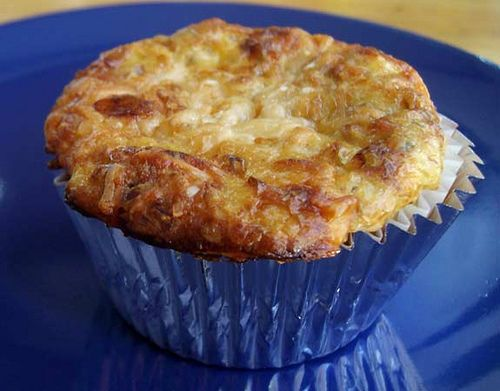 Low Carb Sun-Dried Tomato Cottage Cheese Muffin Recipe by ...