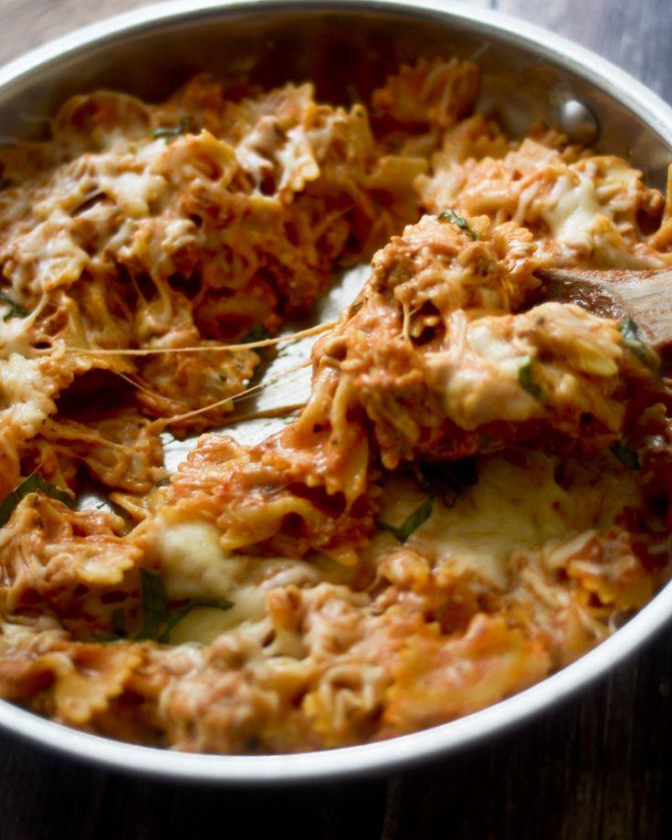 Pasta Lasagna Recipe — Dishmaps